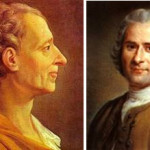 On Montesquieu, Rousseau: salvation or noble savage?