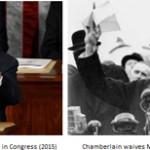 Netanyahu vs. Neville Chamberlain