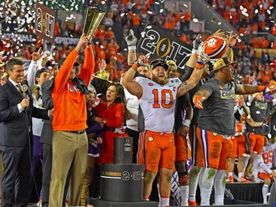 Clemson Champions: 35-Year Long Odyssey to Victory
