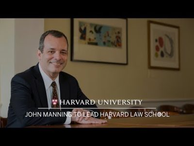 Letter to Dean John Manning, Harvard Law School's New Dean, Part 2