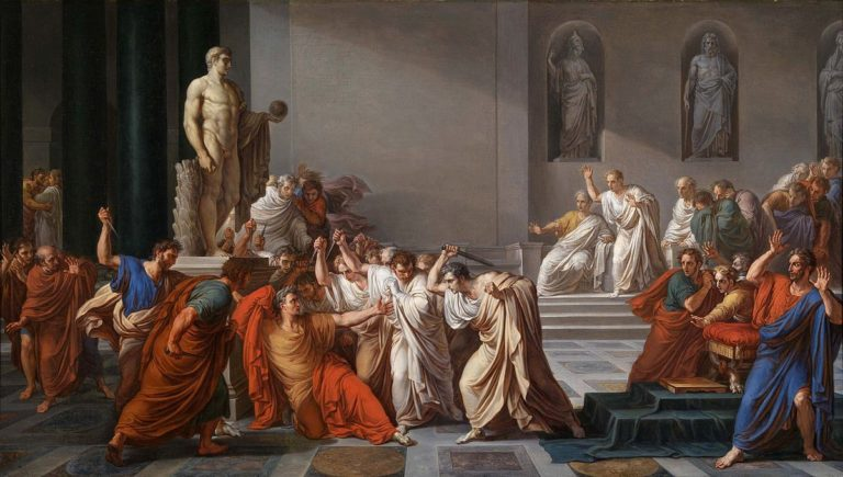 a overview of brutus betray of julius caesar