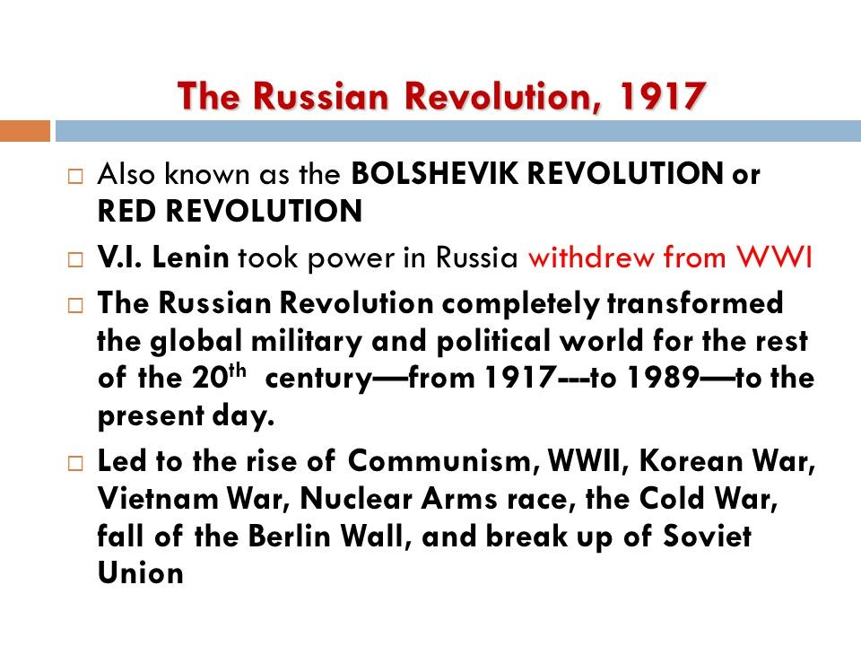 Two Russian Revolutions And Once