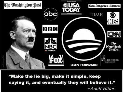 Fake News = Fraud News = 'Big Lie' News