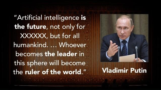Vladimir Putin Artificial Intelligence Quote